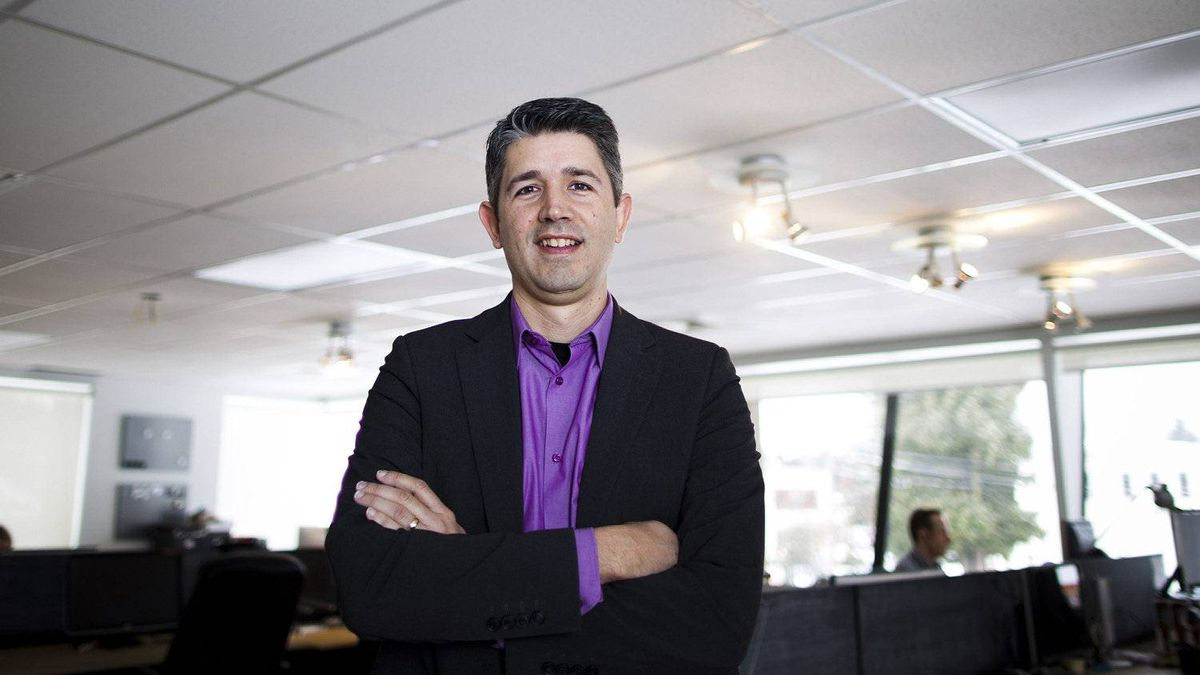 Shawn Neumann, founder and president of Domain7