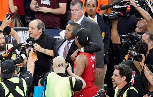Raptors president Masai Ujiri produced ID before altercation with sheriff, police say, but not proper credentials