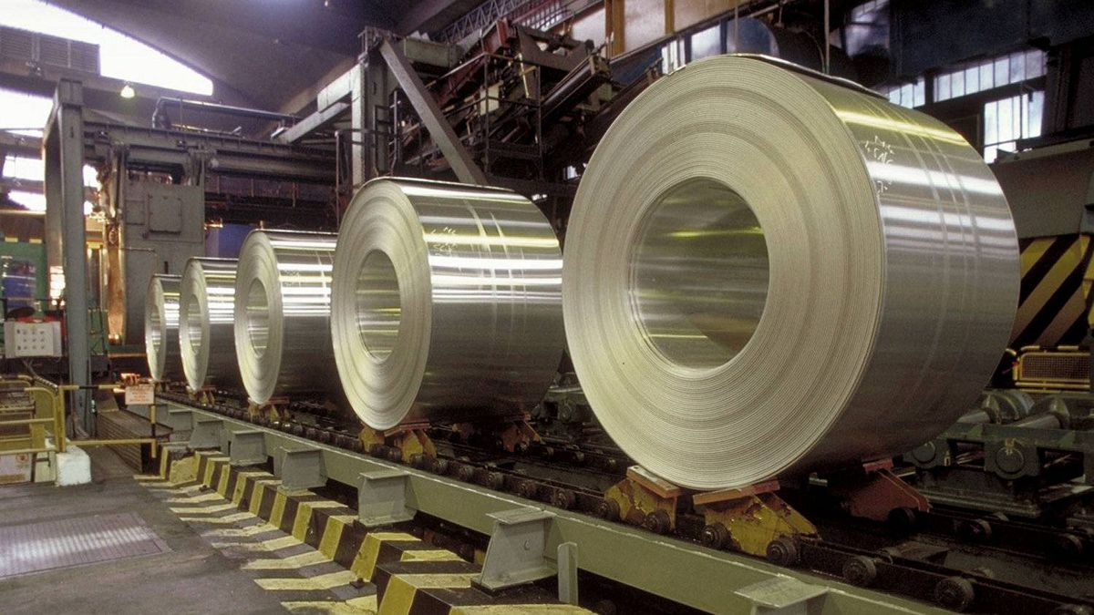 Finished coils of aluminum. Alcoa's smelters at Baie-Comeau, Deschambault and Bécancour in Quebec will be modernized under a $2.1-billion upgrade, the company has announced.