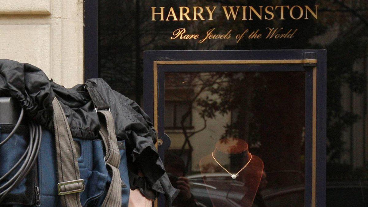 The Harry Winston store in Paris.