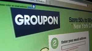 Investors grab Groupon