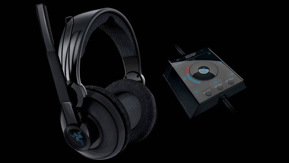 The Razer Megalodon headphones offer excellent 7.1 surround-sound for immersive gaming