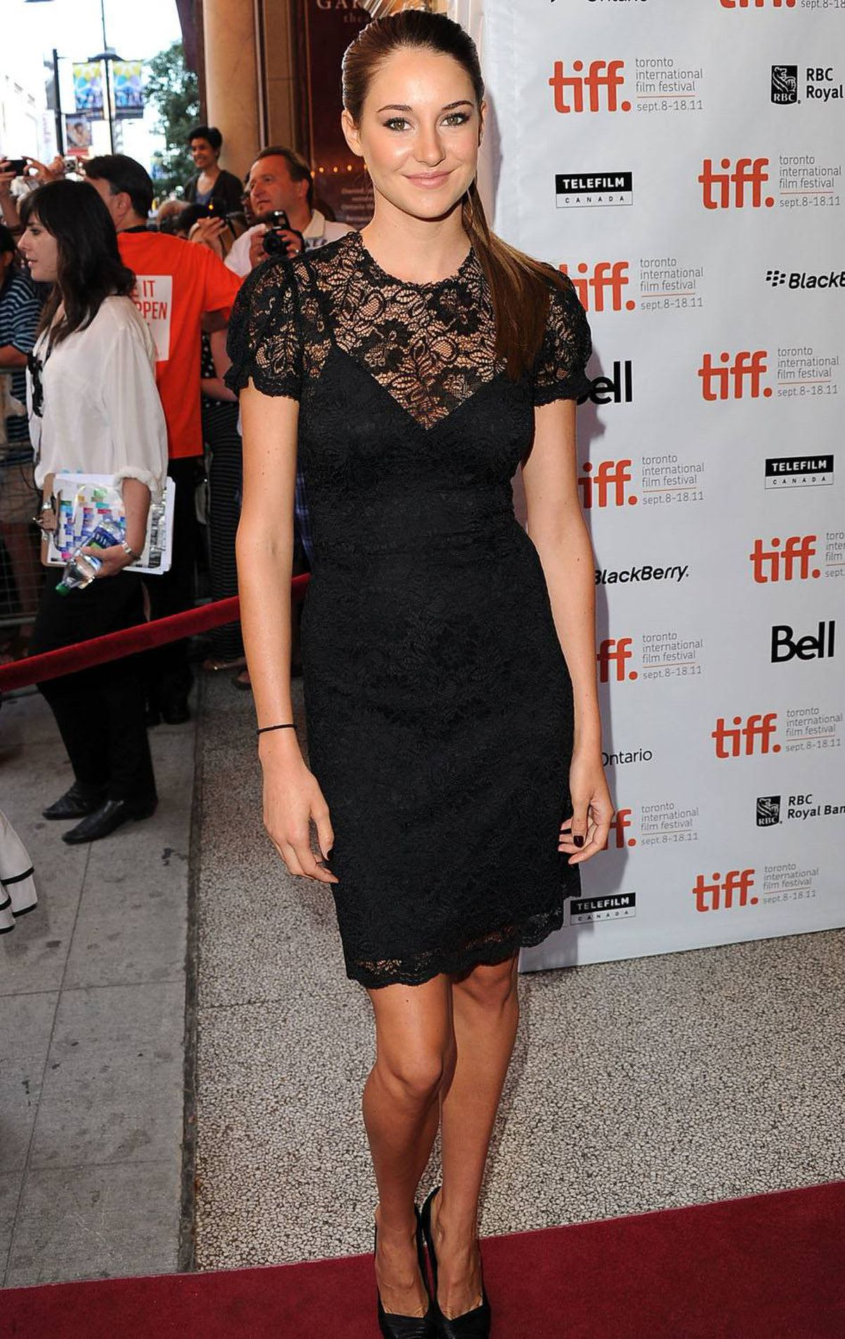 "Actress Shailene Woodley arrives at ""The Descendents"" Premiere at The Elgin during the 2011 Toronto International Film Festival on September 10, 2011 in Toronto, Canada."