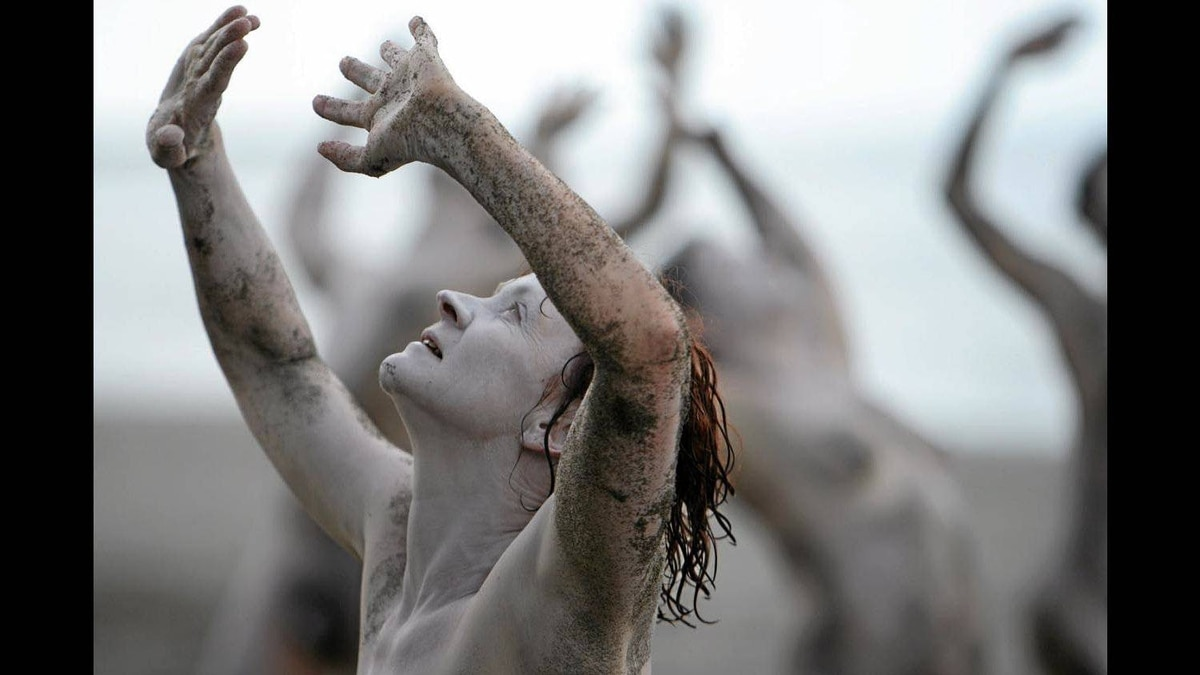 Dancing On The Edge Festival: Wreck Beach Butoh