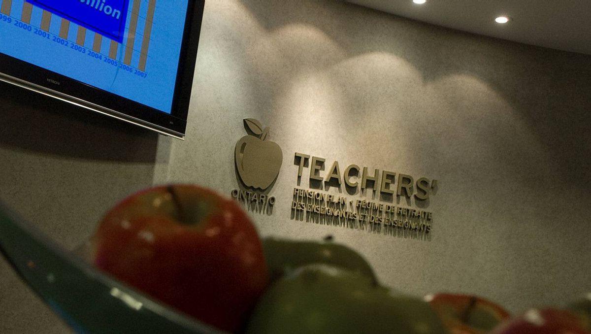 Ontario Teachers' Pension Plan Head Office in Toronto.