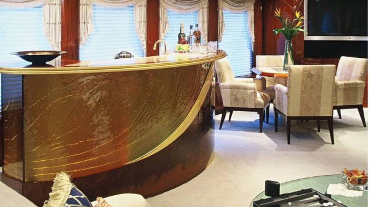 Inside Antonio Accurso's luxury yacht, the Touch.