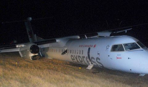 Air Canada crash landing in Edmonton was more serious than first reported