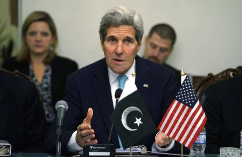 Kerry praises Pakistani operation against militants, reopening of Peshawar school