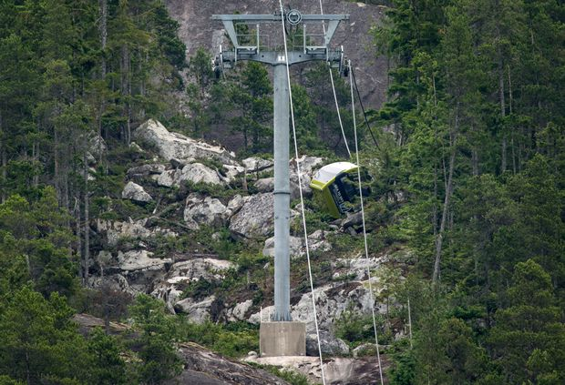 RCMP investigate sabotage after gondola cable cut at B.C. tourist attraction