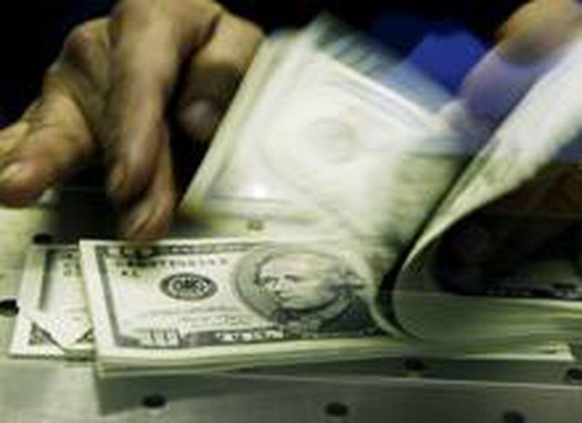 Counting U.S. dollars