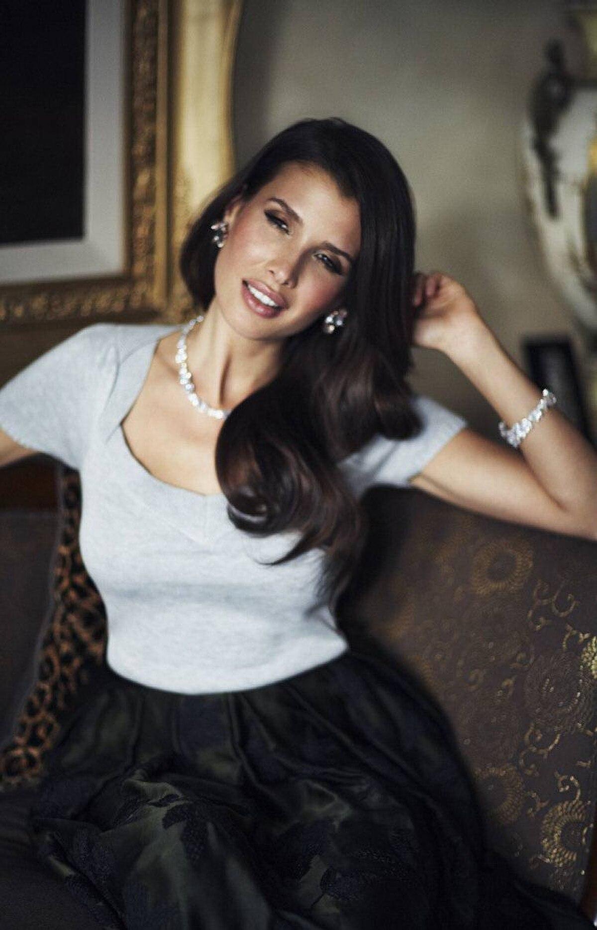INTIMATE APPAREL Rachel Rachel Roy top, $69 at the Bay. Dries Van Noten skirt, $2,350 at Holt Renfrew. Lia Sophia earrings, $143. Kenneth Jay Lane necklace, $385, bracelet, $495 at Holt Renfrew.