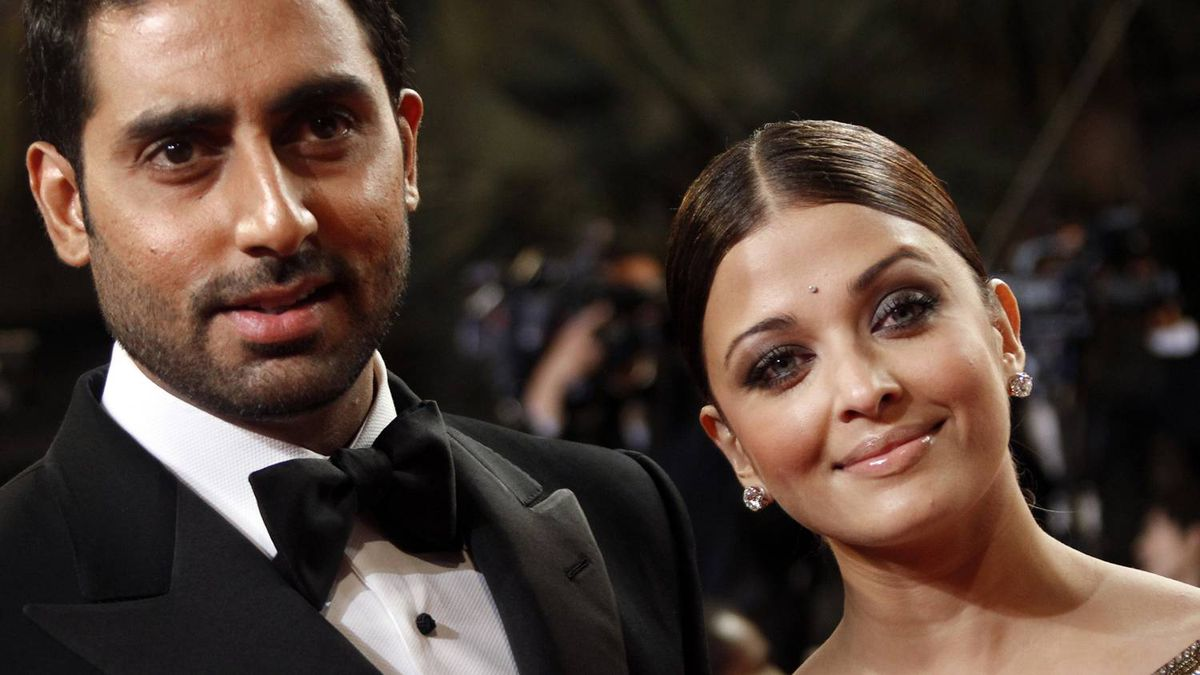 """Actress Aishwarya Rai and her husband Abhishek Bachchan attend the 63rd Cannes Film Festival in this May 17, 2010 file photo. The Bollywood actress has given birth to a baby girl, her husband announced on Twitter on Wednesday. While the baby's father just said """"it's a girl"""", her proud grandfather Amitabh Bachchan -- a veteran actor and head of Bollywood's most famous family -- could barely contain his joy."""