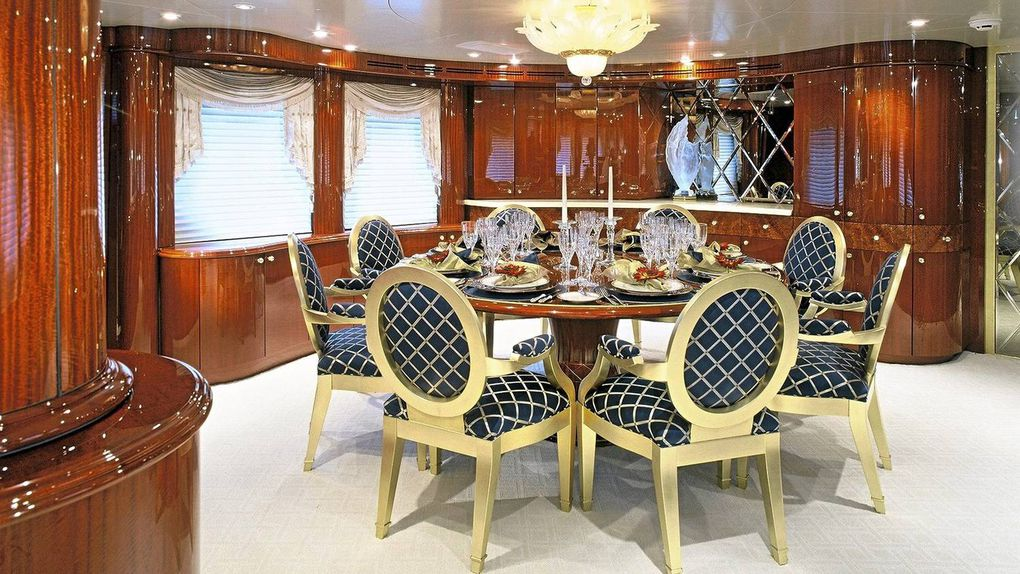 Inside Antonio Accursos Luxury Yacht The Touch