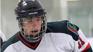 Kyle Fundytus, 16, died after the puck hit him in the throat while he was blocking a shot.