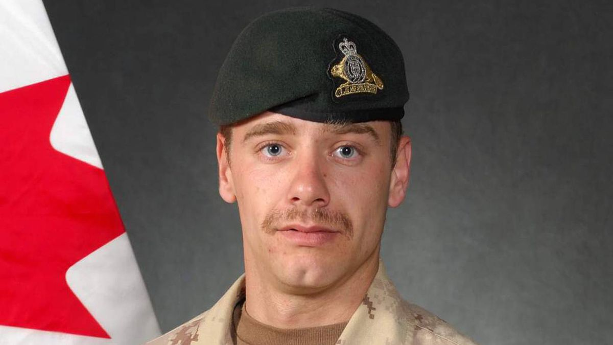 Cpl. Yannick Scherrer, shown in this undated handout photo, was on a foot patrol Sunday near Nakhonay, southwest of Kandahar city, when he was killed by an improvised explosive device. The 24-year-old Montreal native was on his first tour in the country.