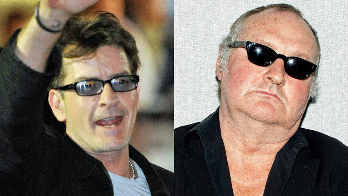 Charlie Sheen, left, and Randy Quaid.