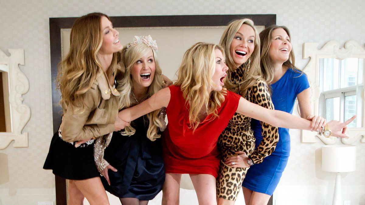 The Real Housewives of Vancouver pose for a photograph in Vancouver.