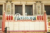 Old theater marquee