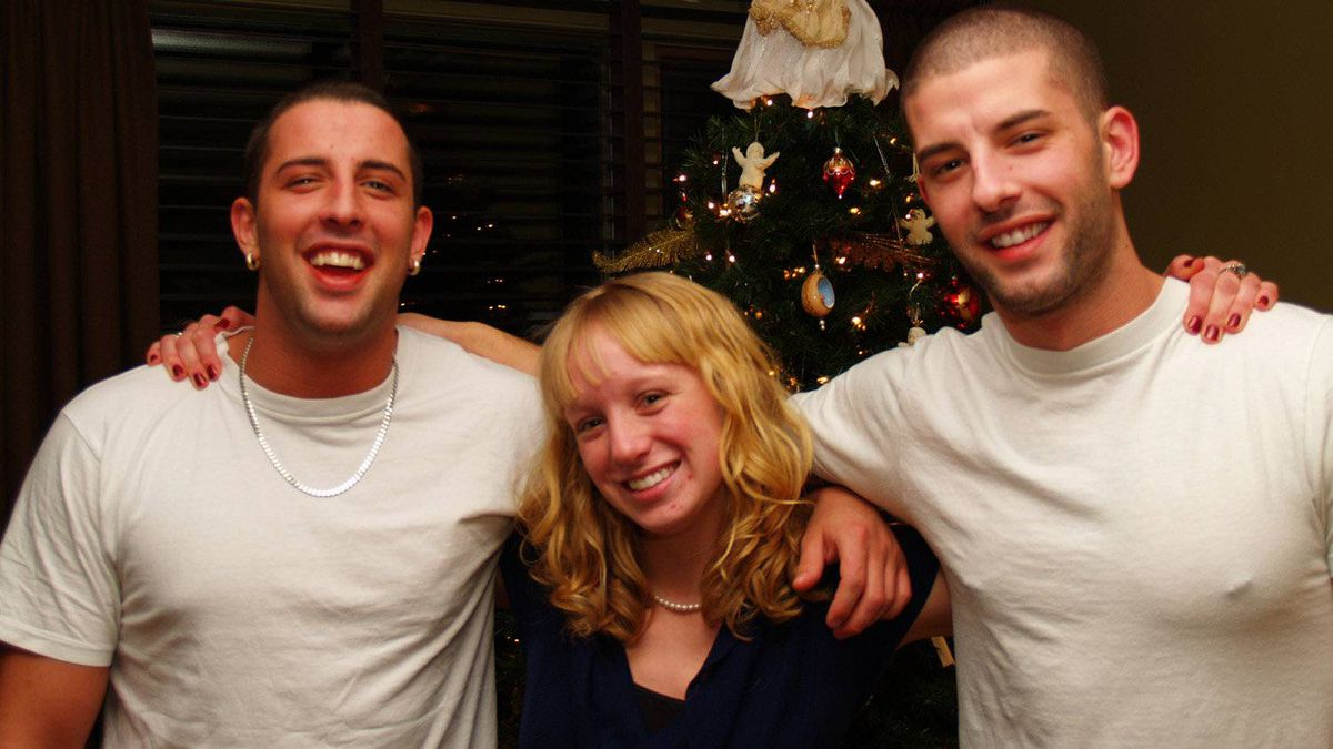 Bruce, left, was one of more than 36,000 people who died of a drug overdose in North America in 2011.