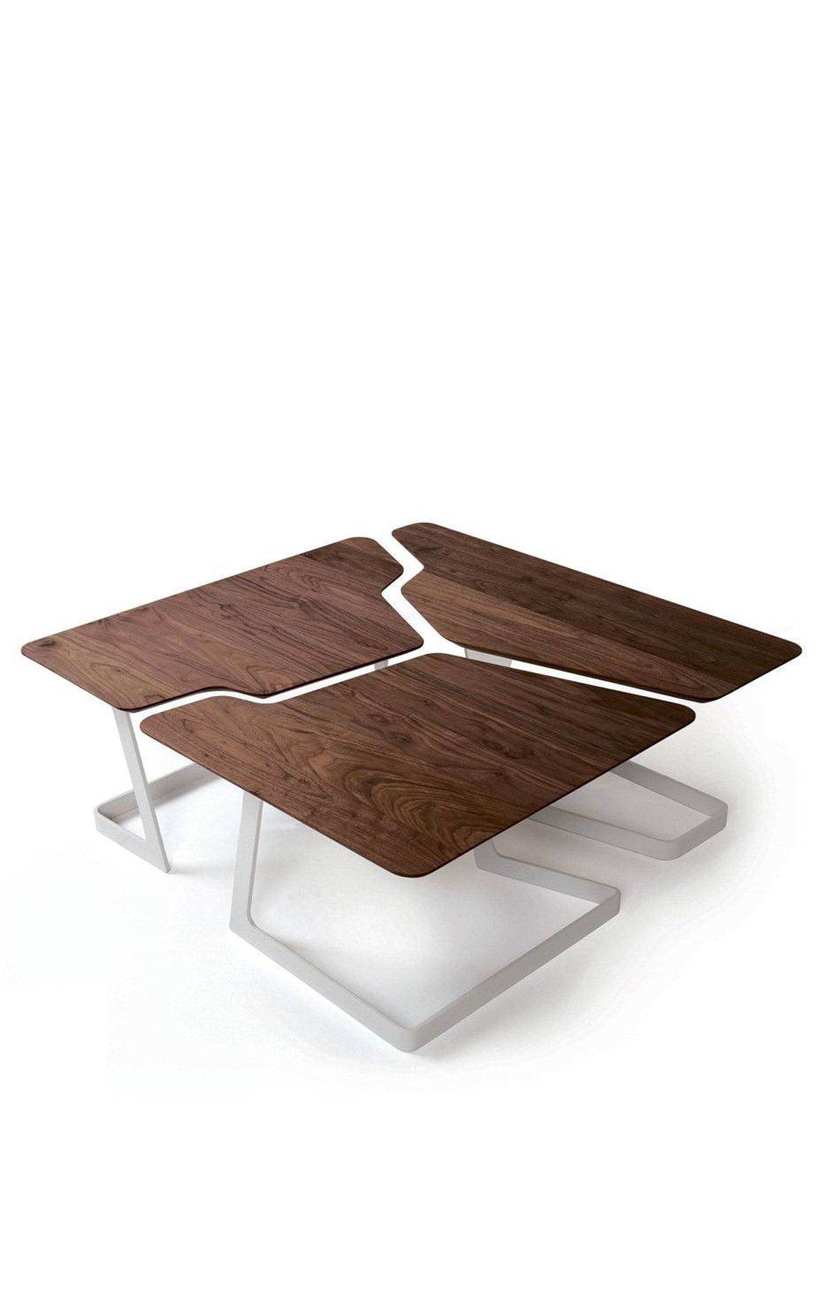CRACKS IN THE SYSTEM Fracture Coffee Table, $3,775 in walnut through Hollace Cluny in Toronto (www.hollacecluny.ca).