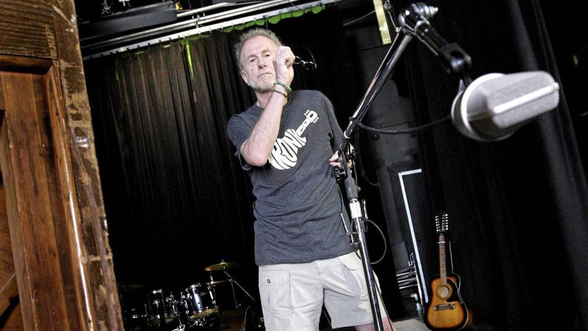 Former Rolling Stones manager Andrew Loog Oldham in Vancouver on July 31, 2010.