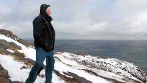 Ray Hawco stands on Signal Hill overlooking the Atlantic Ocean in St. John's, Friday, Feb.10, 2012.