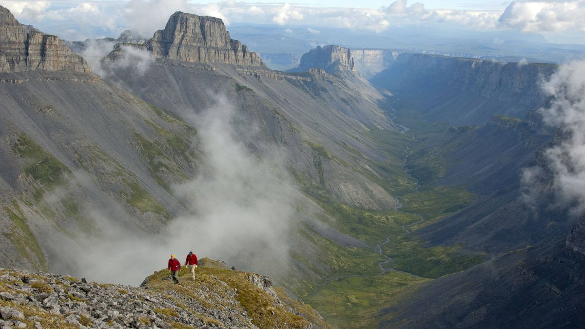 The Ram Plateau in the Nahanni National Park Reserve in the Northwest Territories.