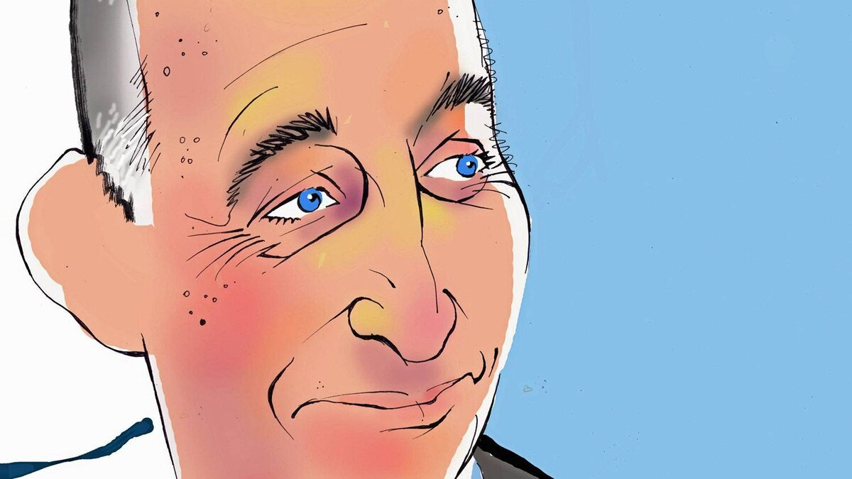 Illustration of John Levy, founder and chief executive officer, Score Media Inc.