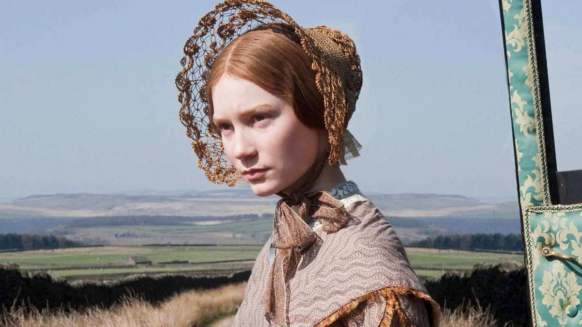 """Mia Wasikowska stars as the title character in """"Jane Eyre."""""""