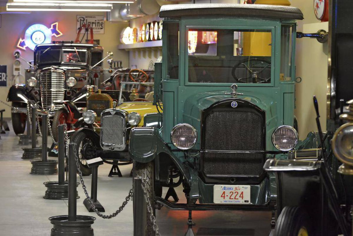 In Photos A Vintage Car Buffs Dream Come True Calgary The Fuel Filter Globe For And Mail