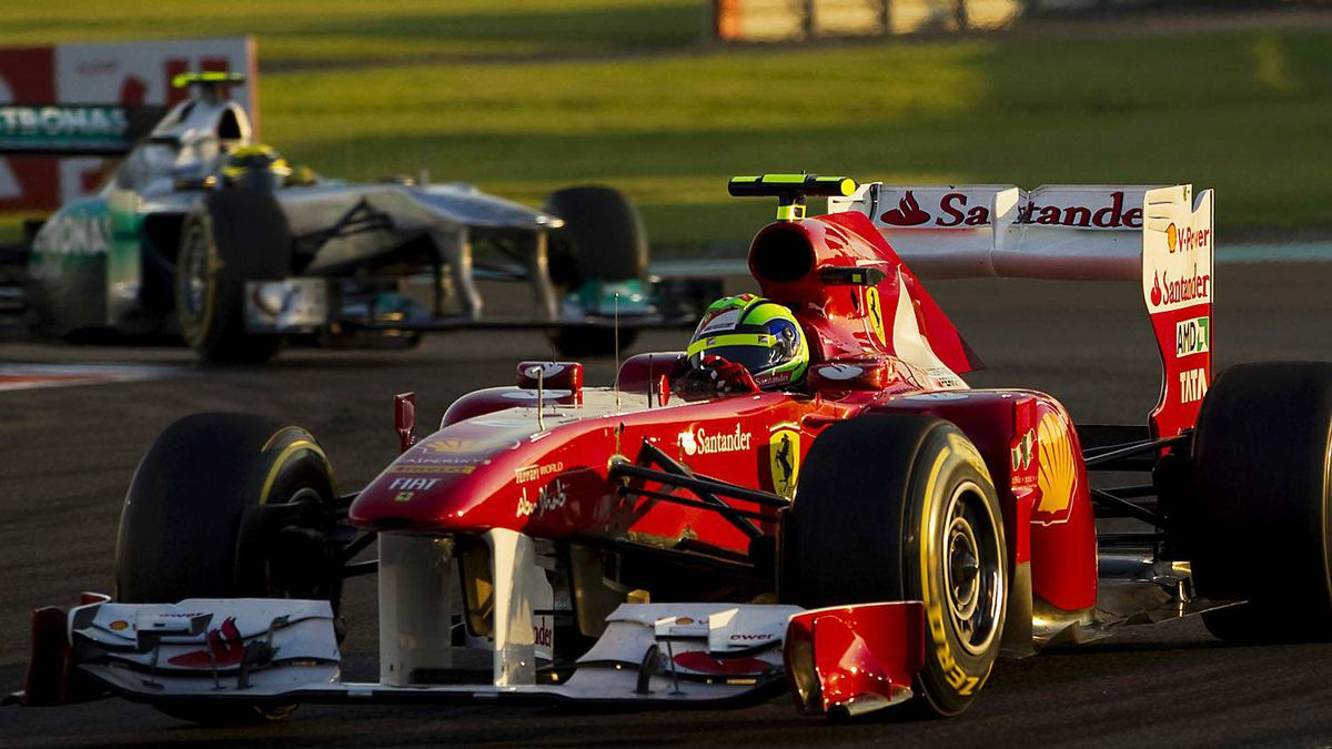 Ferrari Formula One driver Felipe Massa of Brazil drives during the Abu Dhabi F1 Grand Prix at Yas Marina circuit in Abu Dhabi November 13, 2011.