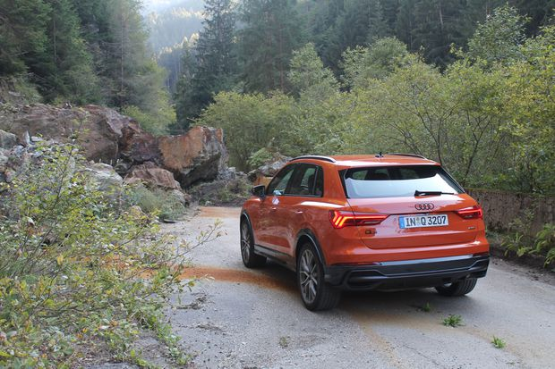 Review Audi Q3 Brings The Tweener Suv To North America The Globe