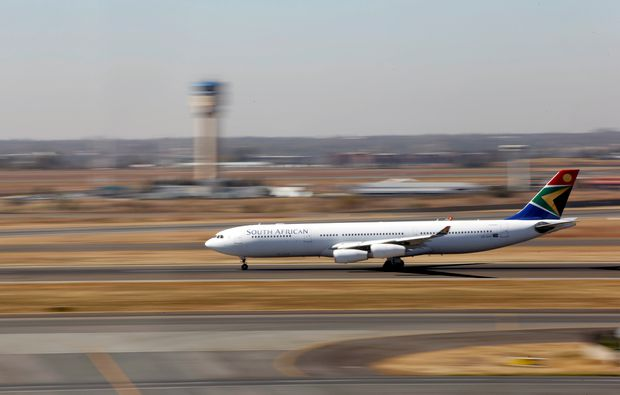 South Africa's state airline grounds itself as debt crisis worsens