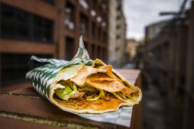 Jianbing Wrap The Best Sandwich Deal In Town The Globe And Mail