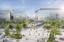 University of Montreal -- artist rendering of the Campus MIL project.
