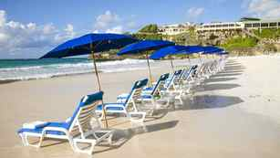 The Crane beach resort Barbados.