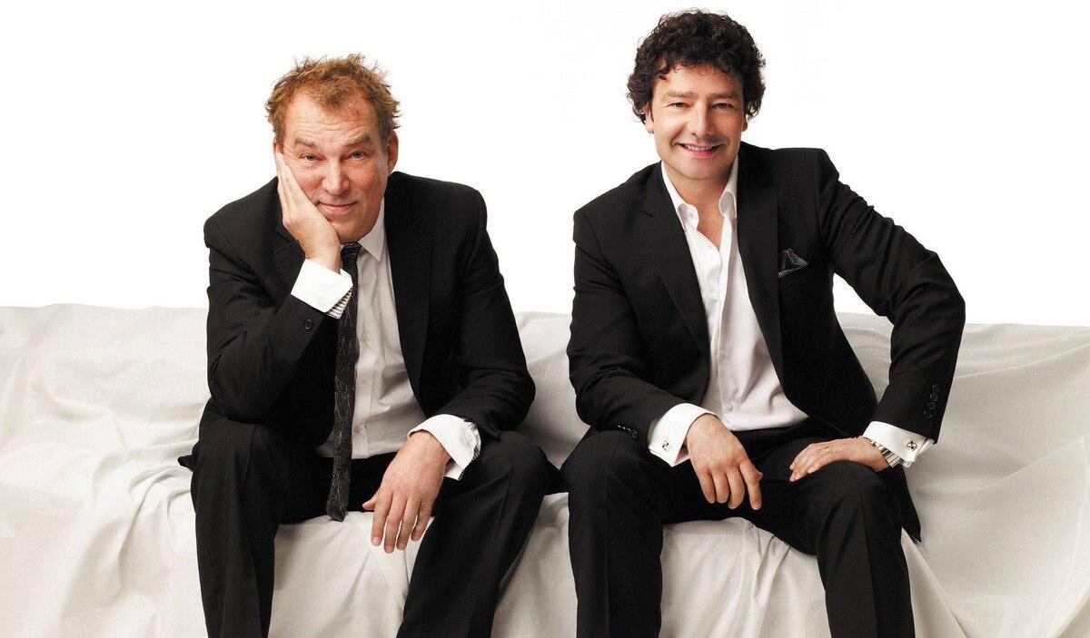 Des McAnuff (left) and Antoni Cimolino