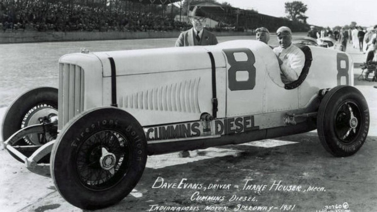 Cummins' pioneering Indy entry was also essentially a publicity stunt designed to show the economy and durability of his engines.