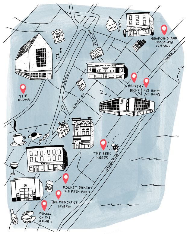 Neighbourhood stroll: Where to eat, stay and shop in St. John's