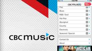 The CBC Music app provides a rich library, but no information on the track you're listening too and a somewhat depth-free sound, according to media reporter Steve Ladurantaye