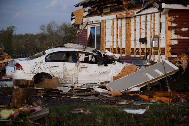 Widespread damage after tornado hits Ontario and Quebec