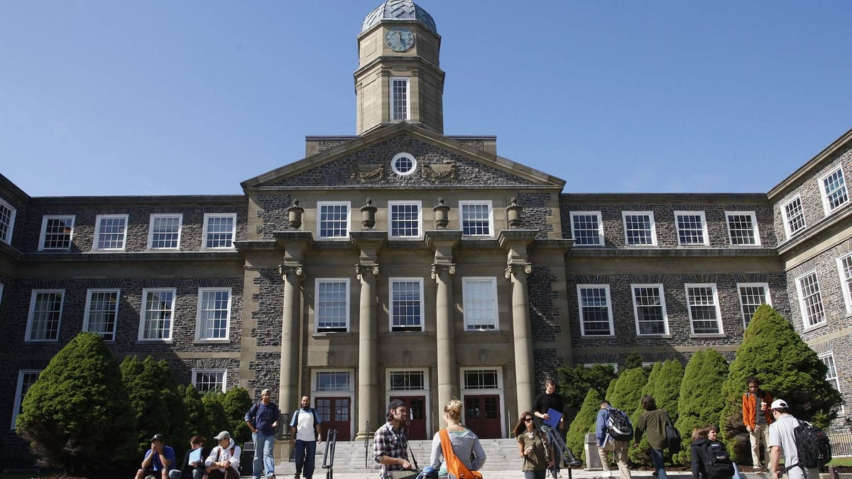 The Arts and Administration building at Dalhousie University in Halifax. Paul Darrow for The Globe and Mail