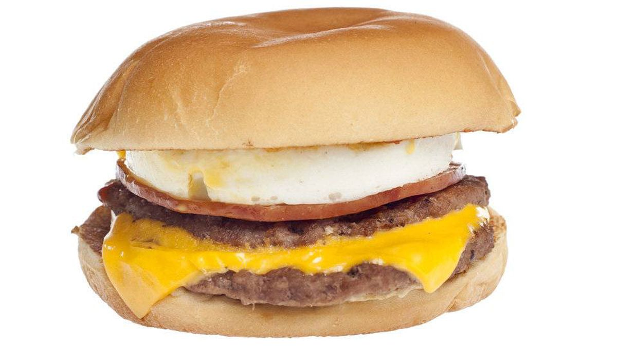 The Mc10:35 is a DIY creation that involves sandwiching an Egg McMuffin inside of a McDouble.