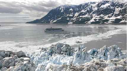 More efficient ships using low-emission fuel are heading up the West Coast to Alaska this year.
