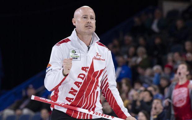 Kevin Koe beats John Shuster's U.S. rink 6-3 at world men's curling championship
