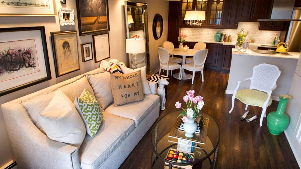Jillian Harris's living room