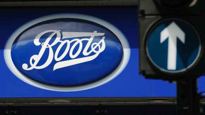 A sign outside a store of pharmacy and cosmetics chain Boots is seen in London, in this May 16, 2011 file photo. Drug retailer Walgreen Co is buying a 45 percent stake in the European health and beauty group alliance Boots for $6.7 billion in cash and stock, creating the world's biggest buyer of prescription drugs.