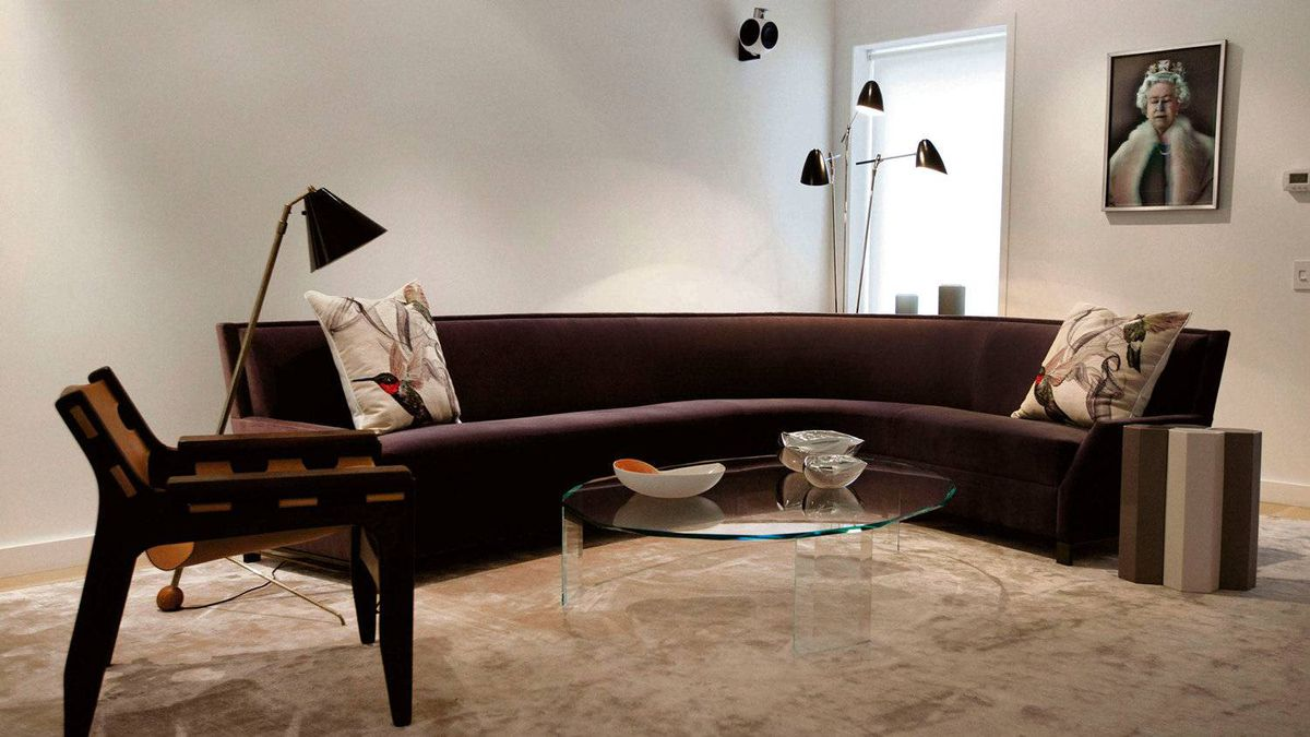 Stephan Weishaupt's living room