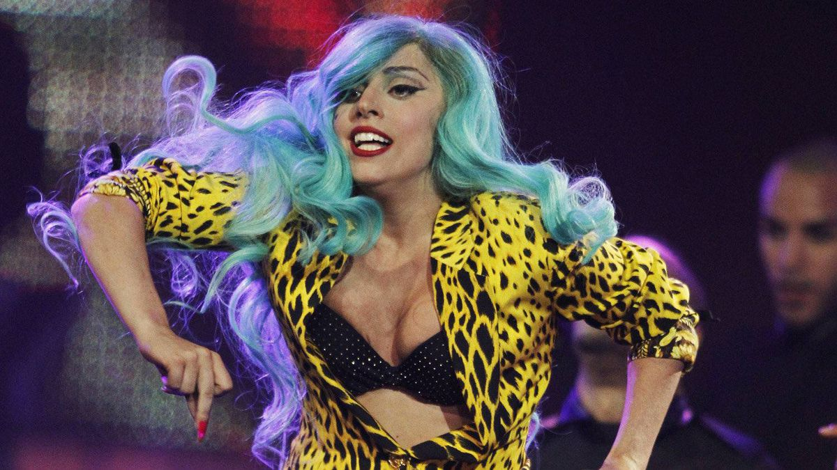 """Lady Gaga performs """"Born This Way"""" during the MuchMusic Video Awards in Toronto June 19, 2011."""