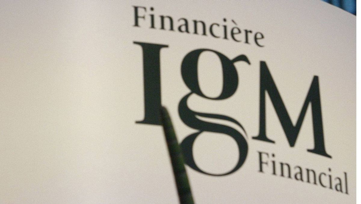 Total assets under management for Winnipeg-based IGM tumbled 8 per cent to $118.7-billion from a year earlier.